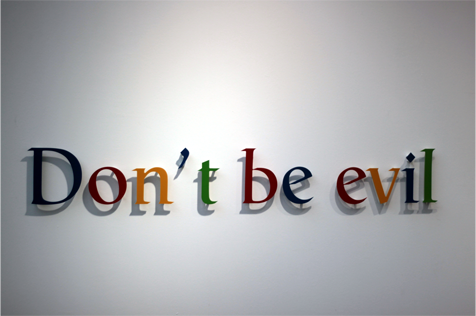 Evil google