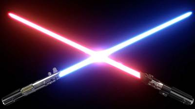 Scientists create lightsaber